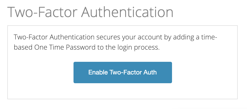 Tossable Digits Two-Factor Auth
