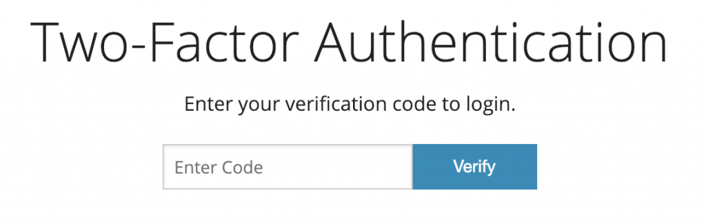 Tossable Digits Two-Factor Auth Login Prompt