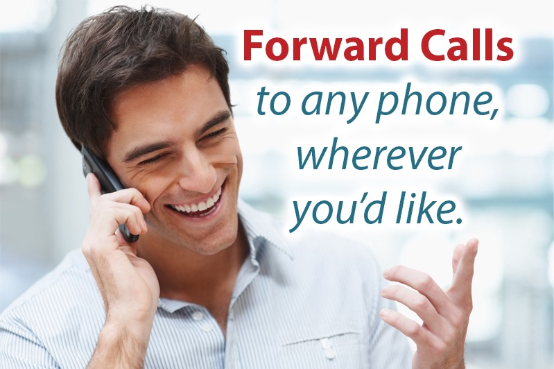 Forward Calls to any phone, wherever you'd like. -- Tossable Digits